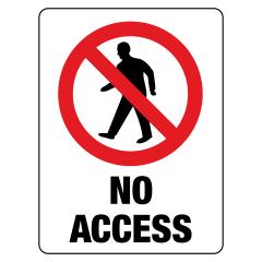 450x300mm - Poly - No Access