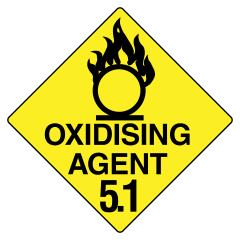 270x270mm - Metal - Oxidising Agent 5.1