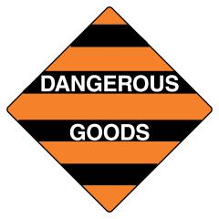 270x270mm - Poly - Dangerous Goods