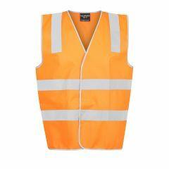 Norss Day/Night Reflective (Hoop Style) Safety Vest - Orange