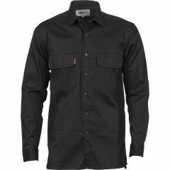 DNC 3 Way Cool Breeze Work Shirt, Long Sleeve, Black