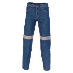 DNC Stretch Reflective Denim Jeans