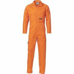 DNC 3101 311gsmCotton Drill Coveralls, Orange