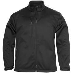 BIZ Mens Plain Soft Shell Jacket, Black