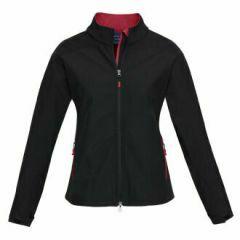 BIZ Ladies BIZ TECH Geneva Jacket, Black/Red