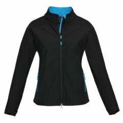 BIZ Ladies BIZ TECH Geneva Jacket, Black/Cyan