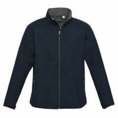 BIZ Mens BIZ TECH Geneva Jacket, Navy/Graphite