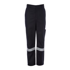 FireBear PPE2 (ATPV 10.0) ARC Rated Reflective Cargo Trouser, Navy