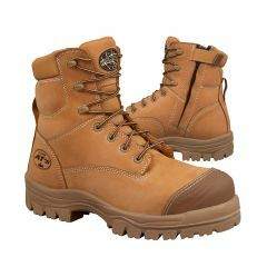 Oliver 45-632Z 150mm Zip Sided Boot With Composite Cap, Wheat