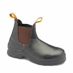 140 Blundstone Brown Elastic Sided Safety Boot