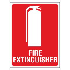 ECONO Fire Extinguisher Location Sign