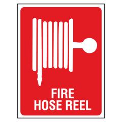 ECONO - 215x150 Poly - Fire Hose Reel Location Sign