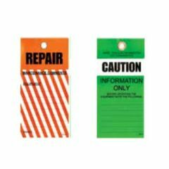 75x160mm - Tear Proof Tags - Pkt of 25 - Repair Tags