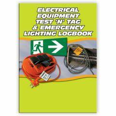 Electrical Test 'n' Tag Logbook - A5