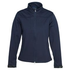 BIZ Ladies Plain Soft Shell Jacket, NAVY