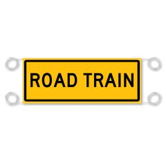 Road Train Reflective  Banner - Vinyl - 1200 x 300mm
