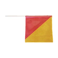 Premium Mesh Type Oversize Flag w/ Flexible Plastic Pole