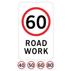 600 x 1200mm - Aluminium Class 1 - (SPEED) Road Work