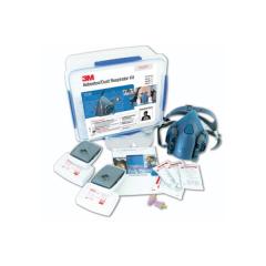 3M Half Face Respirator Starter Kits, Asbestos/Dust - P2/P3 Medium (with 7502 Respirator)