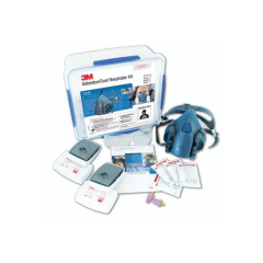 3M Half Face Respirator Starter Kits, Asbestos/Dust - P2/P3 Large (with 7503 Respirator)