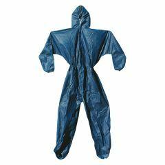 Polypropylene Blue Disposable Coveralls