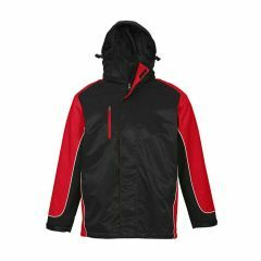 BIZ Unisex Nitro Jacket, BLACK/RED/WHITE