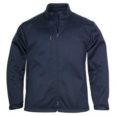 BIZ Mens Plain Soft Shell Jacket, NAVY