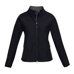 BIZ Ladies BIZ TECH Geneva Jacket, Black/Graphite